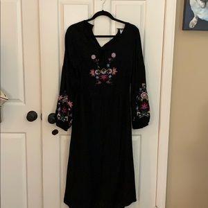 Old navy floral dress medium